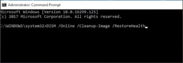 Run the SFC and DISM checks to fix version 1930 - error 0x80080008